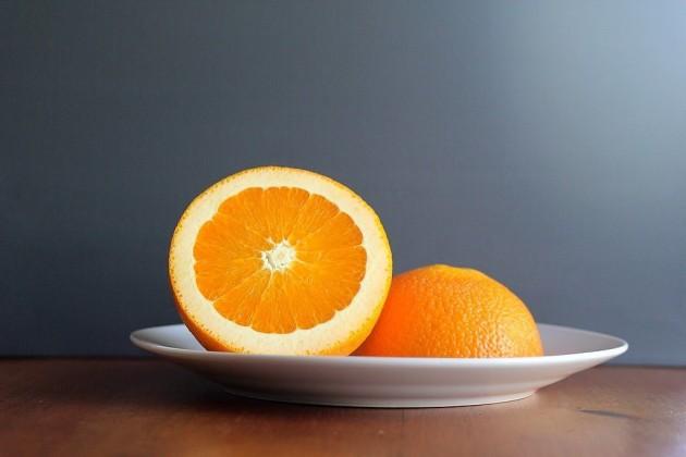 tẩy da chết bằng cam