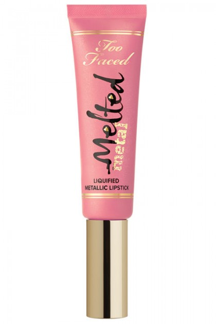 Too Faced Melted Metal Liquified Metalic Lipstick Melted Peony