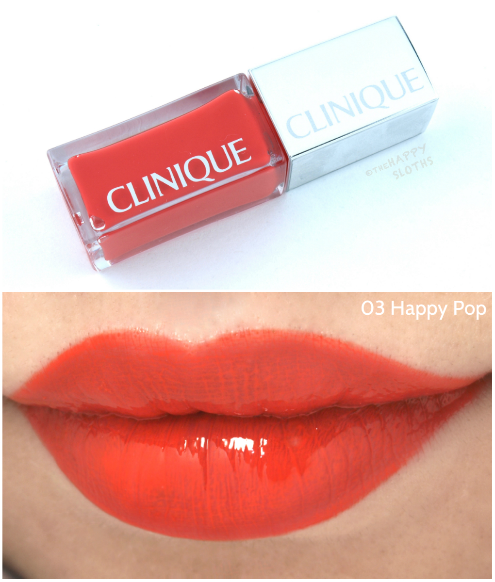 clinique-pop-lacquer-lip-color-plus-primer-03-happy-pop-swatches-review