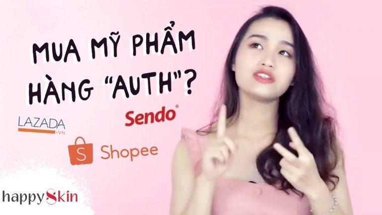 Làm sao để không mua phải HÀNG GIẢ trên Shopee, Lazada? ✅|AUTHENTIC ONLINE SHOPPING TIPS| Happy Skin
