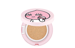 [Kakao Friends Edition] The Face Shop Oil Control Water Cushion SPF50+/PA+++[Apeach] [#v203 Natural Beige]