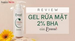Pore Purifying & Blemish Control Derma Cleansing Gel- Gel Rửa Mặt Chứa 2% BHA Vừa Ra Mắt Của Emmié Có Gì Độc Đáo?