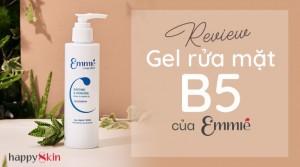 Soothing & Hydrating Derma Cleansing Gel – Gel Rửa Mặt Chứa B5 Của Emmié: Dịu Nhẹ Và Cấp Ẩm Sâu