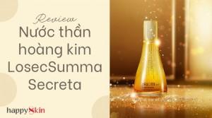 Nước Thần Hoàng Kim Secreta – Phiên Bản Nâng Cấp Của Nước Thần Secret Essence.
