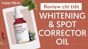 Review Emmié Whitening & Spot Corrector Oil – Dầu dưỡng trắng da mọi loại da vô tư sử dụng