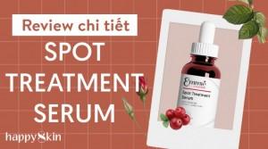 Review Emmié Spot Treatment Serum – Anh hùng trị thâm nám, tàn nhang