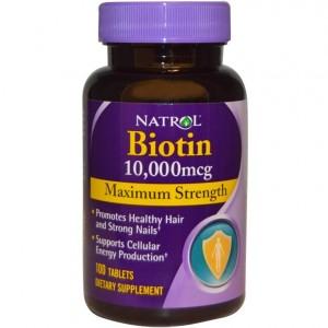 Natrol Biotin 10000mcg