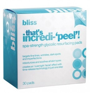 Bliss That's Incredi-Peel Glycolic Resurfacing Pads