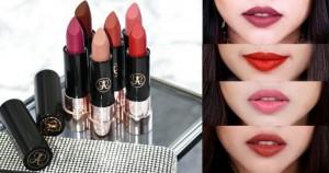 Review son Anastasia Beverly Hills Matte Lipstick đẹp xuất sắc hơn cả Charlotte Tillbury