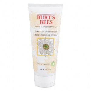 Burt's Bee Soap Bark & Chamomile deep cleansing cream