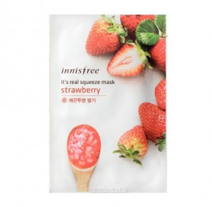 Innisfree – It's real squeeze mask Strawberry & Shea butter