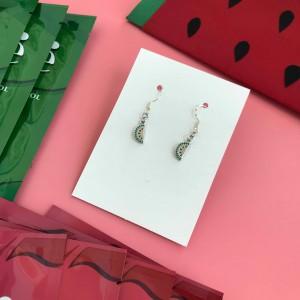 Combo 10 mặt nạ Emmié tặng 1 cặp bông tai Charm dưa hấu bạc